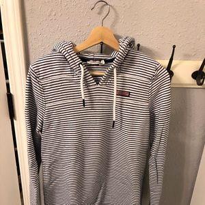 VINEYARD VINES Striped Shep Pullover Size S